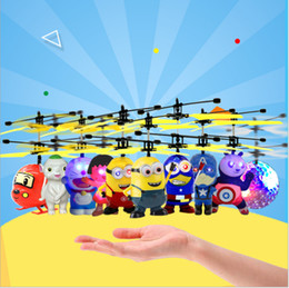Wholesale Other Buildings - Hot Toy Flying RC Flying Ball (Multiple models) Drone Helicopter Ball Built-in Shinning LED Lighting for Kids Vouge -10 Models