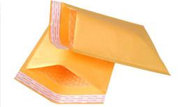 Wholesale Self Sealing Pe Bags - Kraft PE Bubble Mailer  bags Wrap Transport Packaging Envelopes pad 11x13 15x20 20x25 23x28cm Self Sealing adhesive tape 50pcs lot