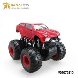 Wholesale Die Cast Toys - Plastic mini off road truck cross-country vehicle toy model SUV stunt inertia beach bauble high quality mini die casting car model