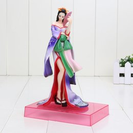 Wholesale Sexy Dolls Action Figures - 21CM Anime One Piece Figure Sexy Nico Robin Kimono PVC Action Figure Model Collection Toy Dolls brinquedos kids toys