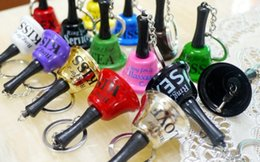 Wholesale Sex Boys For Women - Free shipping Ring for sex bell Keychain appeal the key chain mini bell fun gift keychain keyring
