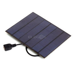 Wholesale Oppo Cell - 10Pcs Lot 3.5W 5V Polycrystalline Solar Cell Panel USB Output PET Solar Cell for iphone Samsung HUAWEI MI OPPO VIVO Smart Phone