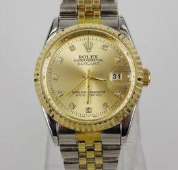 Wholesale watch genuine - High-end genuine business casual fashion classic men's watch automatic quartz watch waterproof men's calendar