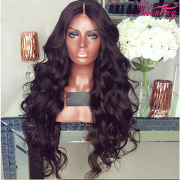 Wholesale Full Lace Light Color Wig - 9A Full Lace Wig With Baby Hair Body Wave Brazilian Virgin Lace Front Human Hair Wigs For Black Women Wet Wavy Wigs