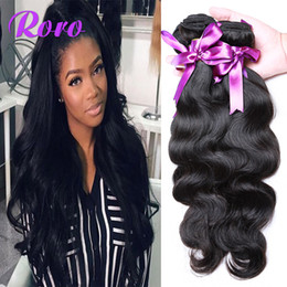 Wholesale Top Weave Sellers - DHL free shipping wholesale price 100% human remy hair 7A cheap Brazilian body wave weave hair 4pcs lot best DHgate sponsor TOP SELLER