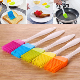 Wholesale Food Grill - NEW Silicone Butter Brush BBQ Oil Cook Pastry Grill Food Bread Basting Brush Bakeware Kitchen Dining Tool Free Shipping WX-C01