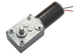Wholesale Motor Rates - DC12V Worm Geared Motor, Worm gear,dc motor turbine worm reducer, Rated speed 16~470 RPM, High Torque