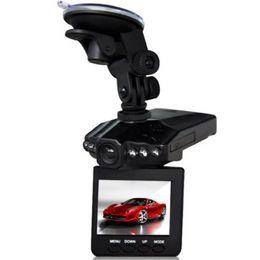 """Schermo 2.5 online-H198 Auto DVR Recorder Auto Camera 6 LED HD 1080 P Visione notturna a raggi infrarossi Visione notturna Universale 2.5 """"Schermo LCD Car Styling"""