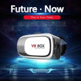 3D VR Box 2-й виртуальной реальности очки картон фильм Игра для смартфона 3,5 дюйма ~ 6 дюймов новый от Поставщики бесплатный картонный google