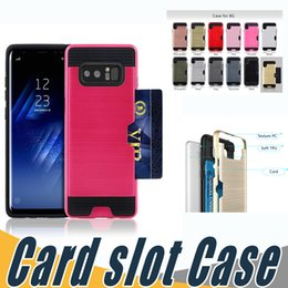 Wholesale Brand Cover Nexus - 2 In 1 Dual Layered Card Slot Back Case Hybrid Armor Shockproof Cases Cover For LG U LV1 LV3 LV5 LV7 X300 X400 X500 LS770 LS775 Nexus 5X