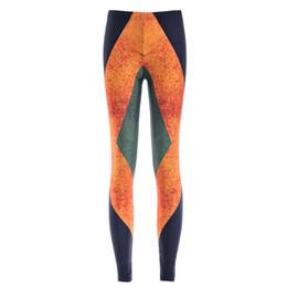 Wholesale Women Flag Leggings - Women Fashion Jamaica Flag Galaxy Leggings Black Diving Pants Printed Sky Space Stretchy Breathe Christmas Warm Jeggings Slim Tights