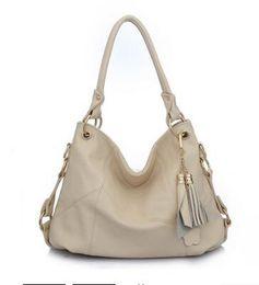 Wholesale Ladies Fringed Handbags - 2016 new fringed handbags Korean fashion shoulder diagonal stitching ladies handbag leather bag