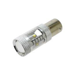 Wholesale High Power Led Ba15s - S25 LED 1156 BA15S 30W High Power Car Tail Brake Bulbs DC 12V Reverse Light 600lm Lamp