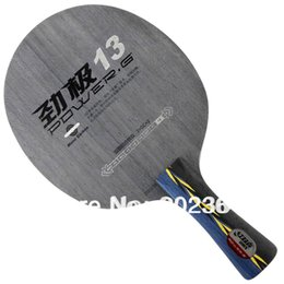 Wholesale 13 Aluminum - DHS POWER.G13 (PG13, PG 13) Mono-Carboon OFF++ Table Tennis Blade for Ping Pong Racket