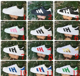 Wholesale Tpr Shell - Summer new shell head sandals three bar sneakers for men and women lovers low help shoes students casual shoes