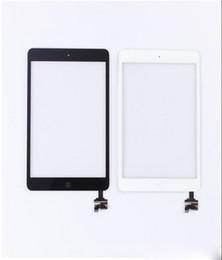 резистивный сенсорный экран Скидка Сенсорная панель полный сенсорный экран Digitizer Assembley с IC для IPad Mini Mini 2 сенсорная панель с кнопкой Домой черный белый AF693 ipad 1 ЖК-дисплей
