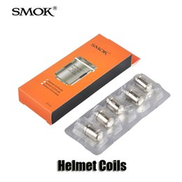 Wholesale 100 Original Smok Helmet Tank Coils ohm CLP Coil head for Helmet Mini Atomizers