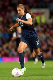 Wholesale Movie Stickers - Alex Morgan - America Sexy soccer Football Palyer 24x36 inch Poster