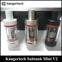 Wholesale Mini Kanger Atomizer - Kanger Subtank Mini V2 E Cigarette Atomizer Sub Ohm Tank OCC Coils Replaceable VS SMOK Alien