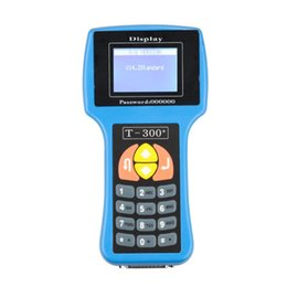 программисты-программисты-транспондеры Скидка Wholesale-V13.08 T300 Key Programmer T-Code Professional Transponder Key Programming Machine T-300 Auto keys Pro Programador de Chaves