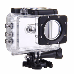 Wholesale Underwater Camera Accessories - SJCAM SJ5000 Sport Action Camera Box 30M Waterproof Case Underwater Housing Diving For SJ5000 wifi SJ5000 Plus Accessories