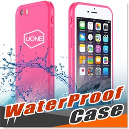 Wholesale Iphone Proof Case Slim - For Samsung Galaxy S7 Waterproof Cases Shockproof Case Cover Ultra Slim Thin Light 360 All Round Protective Full Sealed Snow Proof Case
