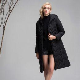 Wholesale 7xl Winter Coats - New Fashion Winter Jacket Women 2017 Down Parka Plus Size L-7XL Thicken Warm Hooded Coat Female Jacket