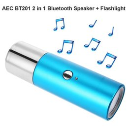 Wholesale Water Speakers Brand - Brand New BT201 2in1 Water Resistan Wireless Bluetooth 3.0 Speaker Flashlight Support Hands-free Calls Functions Songs Track