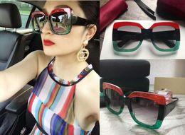 Wholesale Brands Womens Sunglasses - New designer sunglasses G0083S sunglasses for women womens sun glasses women brand designer coating UV protection summer fashion sunglasses