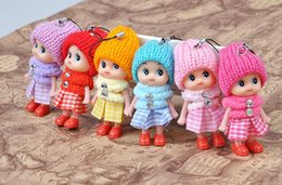 Wholesale Mini Ddung Dolls - Mini Ddung Doll Best Toy Gift for Girl Confused Doll Key Chain Phone Pendant Ornament mini doll keychain