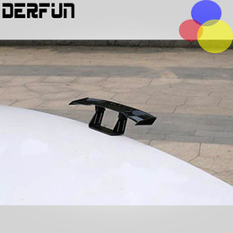 Wholesale 17 cm - 17 cm DIY Mini Funny Car Small Tail Stick Rear of the car decoration Car Spoiler Modification