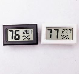 Argentina Mini Digital LCD Higrómetro Temperatura Humedad Medidor Termómetro -50 ~ 70C 10% ~ 99% HR Sonda incorporada Suministro