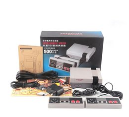 Wholesale Wholesaler Pc Portable - Classic Game Console Mini Portable Video Game Player Console For Nintendo NES Windows PC Mac with 500 Different Built-in Games