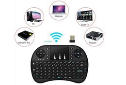 3-метровая клавиатура онлайн-DHL Rii i8 беспроводная клавиатура с сенсорной панелью 2.4 g Fly Air Mouse Combo Teclado для Hdpc Win7 Pad Для Xbox360 для Ps3 для Andriod
