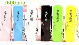 Wholesale Battery Case Iphone Usb - Portable Mobile Power Bank 2600mAh 18650 Battery DIY Perfume USB Power Bank Case Charger for All Phones iPhone Android