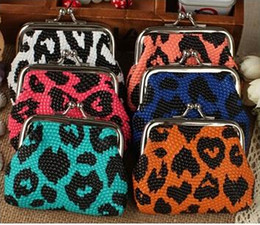Wholesale Vintage Zebra - Many design leopard crocodile Zebra rose embroidered catoon Lady bags Coin purse Coin bags Money bags Wallet hasp Key holders free shipping