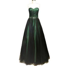 Wholesale Emerald Party Dresses - Emerald Green Prom Dresses vestidos de Noiva 2018 Formal Evening Gowns Robe de Soiree Party Dress
