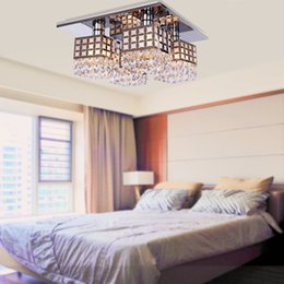 Wholesale Crystal Chandelier For Sale - New Sale Ac110v 220v Modern led crystal chandelier for Home Lighting Led Handing Light, LED crystal ceiling lamp