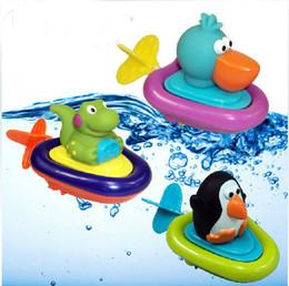 Wholesale Bath Set Cartoon - new baby chilfren bath water shower toys toy for bath bathroom Baby bath toys toys water for bathroom shower storage