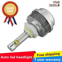 Wholesale Xenon Lighting System - 2016 Newest LED Bulbs for Cars 30W 3600LM Led Fog Lamp 9006 HB4 Replacement HID Xenon Headlight Conversion Car Light Source SYSTEM