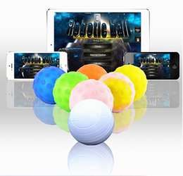 Wholesale White Robot Toy - Sphero ball App Controlled wireless robotic ball for IOS Android Devices robot ball Intelligent remote control toys