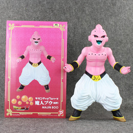 Wholesale Kid Buu - Dragon Ball Z Majin Buu PVC Action Figure Collectable Model Toy Doll for kids gift 30cm free shipping reatil