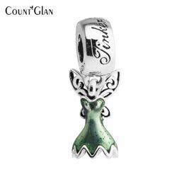 Pulsera de campana online-Granos de la joyería de plata esterlina para la fabricación de joyas DIY Fit Pandora pulsera 925 encantos de plata Berloque Kralen Tinker vestido de Bell