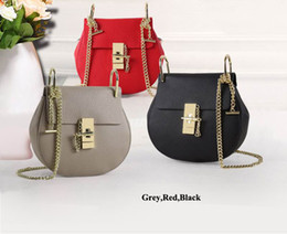Wholesale Ladies First - Young Ladies Fashion Shoulder bags Good touch leather mini casual bags High quality hardware buckle and chain first hand prices Accept OEM