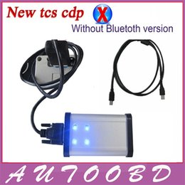Wholesale Com Cdp - Latest 2014 Release 2 Software Black TCS CDP Pro PLUS with keygen in CD for Cars+Trucks+Generic 3in1 Auto tcs cdp pro com freeshipping