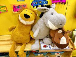 Wholesale Dinosaur Toy Pig - Smiling fangs bared teeth & pig Doll dinosaur panda & children lovely gift