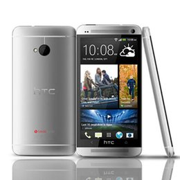 Wholesale One Inch Android - HTC One M7 4.7 inch Refurbished Android Smart Phone Quad Core 2GB RAM 32GB ROM 1920x1080 Full HD 3G Unlocked