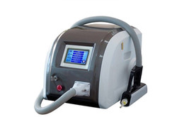 Wholesale Nd Yag Laser Equipment - Wholesale portable nd yag laser tattoo removal machine for skin Whitening ance removal beauty equipment