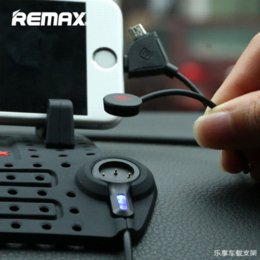 Wholesale Usb Bluetooth Connector - 2016 Remax Car Adjustable Bracket Connector Magnetic Phone Charging Holder Mounts With Charging USB Cable For iPhone For Samsung