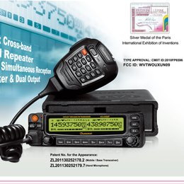 Wholesale Talkie Vhf Marine - WOUXUN mobile radio uhf vhf walkie talkie kg-uv920p high quality car two way radios marine radio hyt Motorola ham radio quality